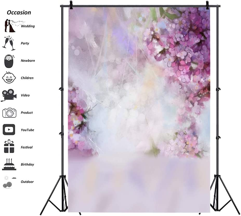 Color : D, Size : 150X210cm YADSHENG Photography Background Cloth Flowers Trees Photography Backgrounds Wall for Wedding Party Child Photography Backgrounds