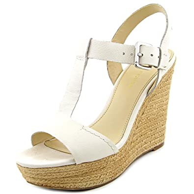 87610443d4e Marc Fisher Womens Harlei Leather Open Toe Casual Espadrille Sandals