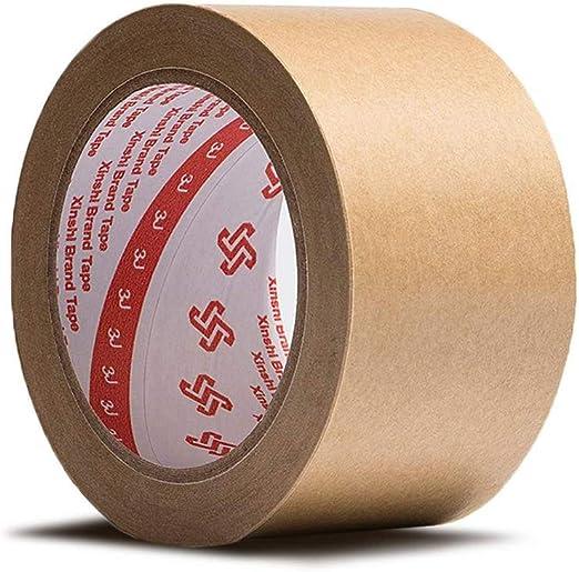 1/rollo 50/m x 48/mm color marr/ón Adhesivo Cinta de embalaje