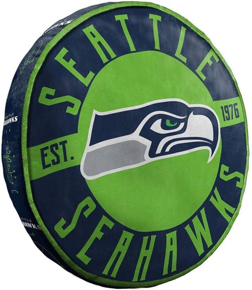 Seattle Seahawks 15 Cloud Travel Pillow