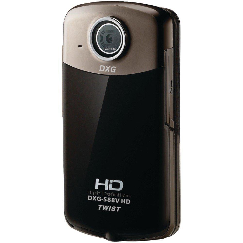 New-DXG USA DXG-588V HD 16.0 MEGAPIXEL 1080P HIGH-DEFINITION QUICKSHOTS TWIST DXG-588V DIGITAL VIDEO CAMERA - DXG588VHD