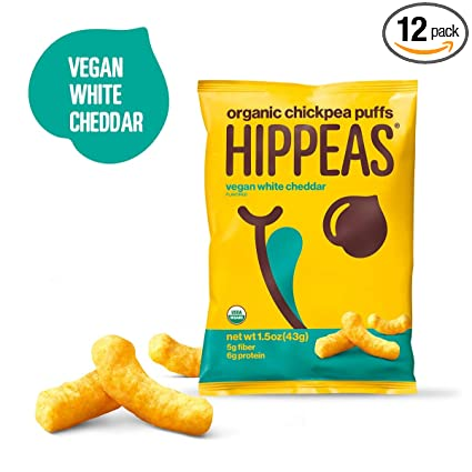 Hippeas Bocadillos de garbanzos orgánicos + barbacoa bohemia ...