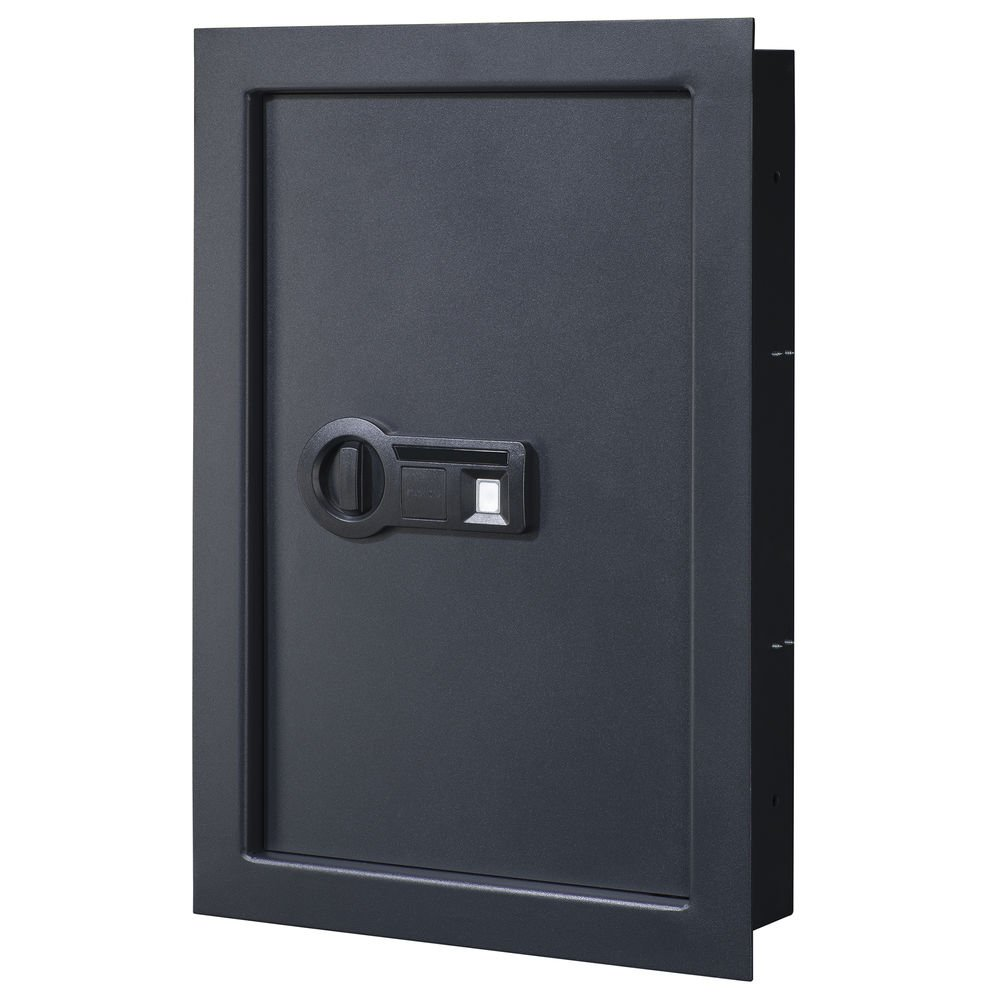 STACK-ON PWS-15522-B Wall Safe with Biometric Lock