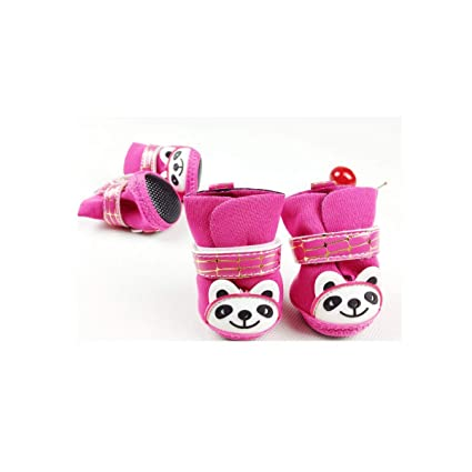 6a10e7aa55ff2 Amazon.com : Haoweidaoshanghang Dog Shoes, Small Shoes for Dogs ...