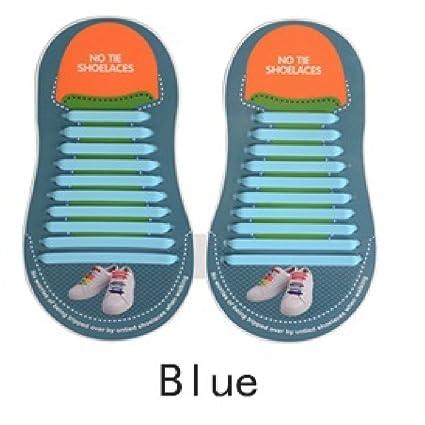 URCenter - Cordones de silicona para zapatillas de correr sin corbata (modelo 2018) mejorados