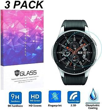 Protector de pantalla para Samsung Galaxy Watch 46 mm, lujoso ...