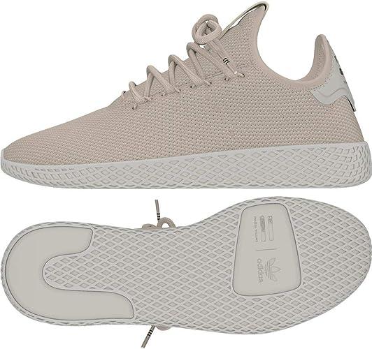 Adidas ORIGINALS Pharrell Williams Tennis Hu Baskets, Gris