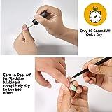 PrettyDiva Liquid Latex for Nails - Peel off Nail