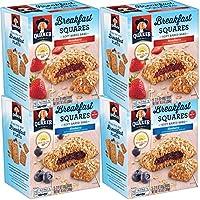 4-Pack Quaker Breakfast Squares Variety Pack 5-Bars