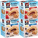 4-Pk Quaker Breakfast Squares Variety Pack, 5 bars Per Box