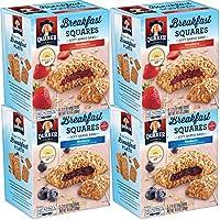 4-Pack Quaker Breakfast Squares Variety Pack, 5 bars Per Box