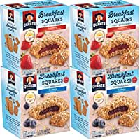 4-Pack Quaker Breakfast Squares Variety Pack, 5 bars Per Box