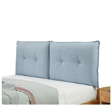 AOLI Cojín del respaldo de la cama Material de lino Esponja ...