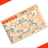 OOOZU Dutch Language Card | Convenient Dutch Phrasebook Alternative | Essential Dutch For Travel To Netherlands/Holland/Amsterdam