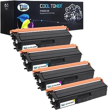 Cool Toner 4 Pack Kompatibel Tn 423 Set Tn 423 Tn 423bk Tn 423c Tn 423y Tn 423m Drucker Toner Für Brother Hl L8260cdw L8360cdw Mfc L8690cdw Multifunktionsgerät Farblaser Brother Toner L8690cdw Bürobedarf Schreibwaren