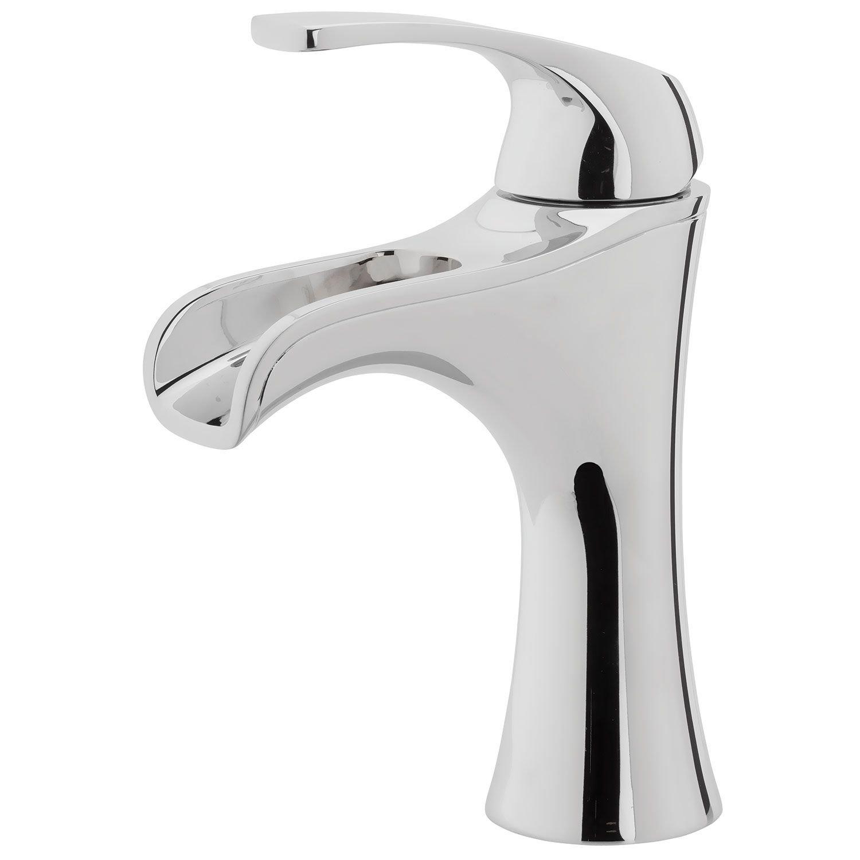 White apron brea - Pfister Lf042jdcc Jaida Single Control 4 Centerset Bathroom Faucet In Polished Chrome Water