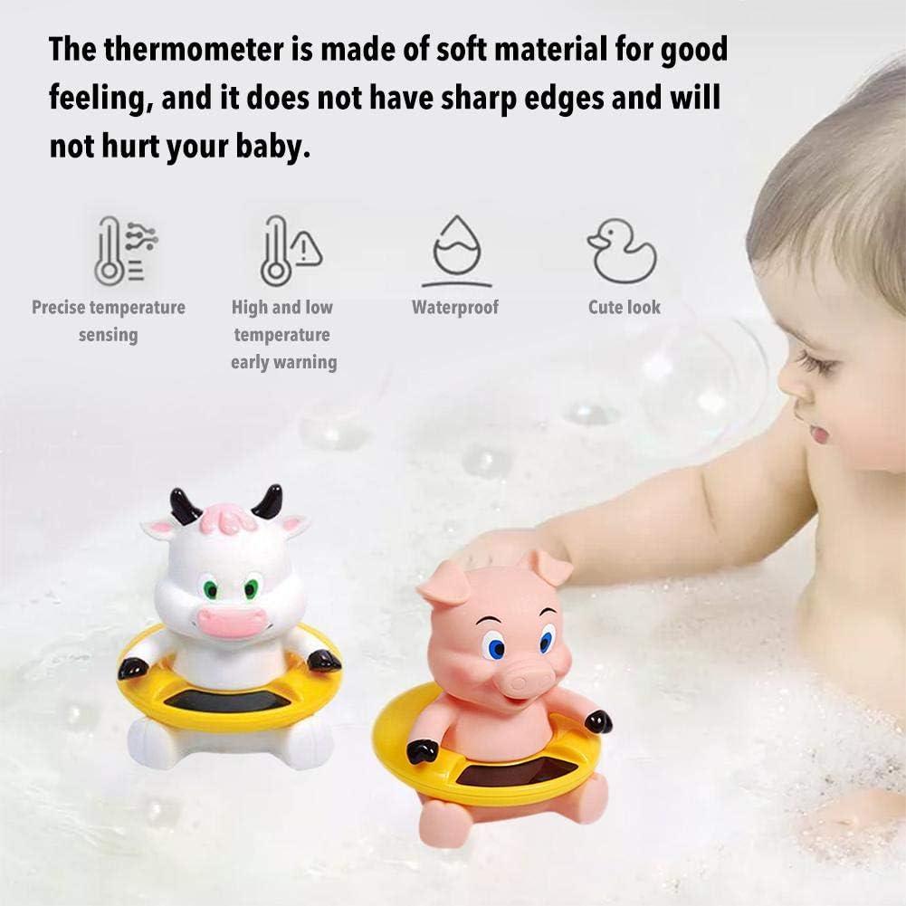 Thermomètre de piscine, Thermomètre flottant de natation pour bébé animal mignon, Thermomètre flottant de piscine pour piscines Thermomètre pour Porc