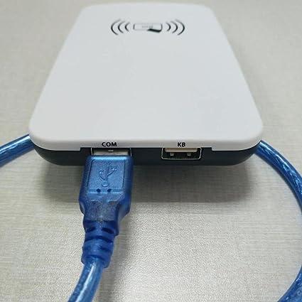 Amazon com: UHF RFID Desktop Reader with USB Communication
