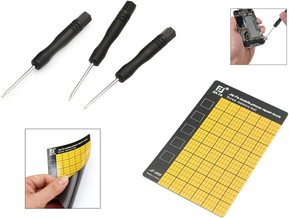 Huancement Repair Tool Kit Kit JF-8147 14 in 1 Metal Plastic iPhone Dedicated Disassemble Repair Tool Kit