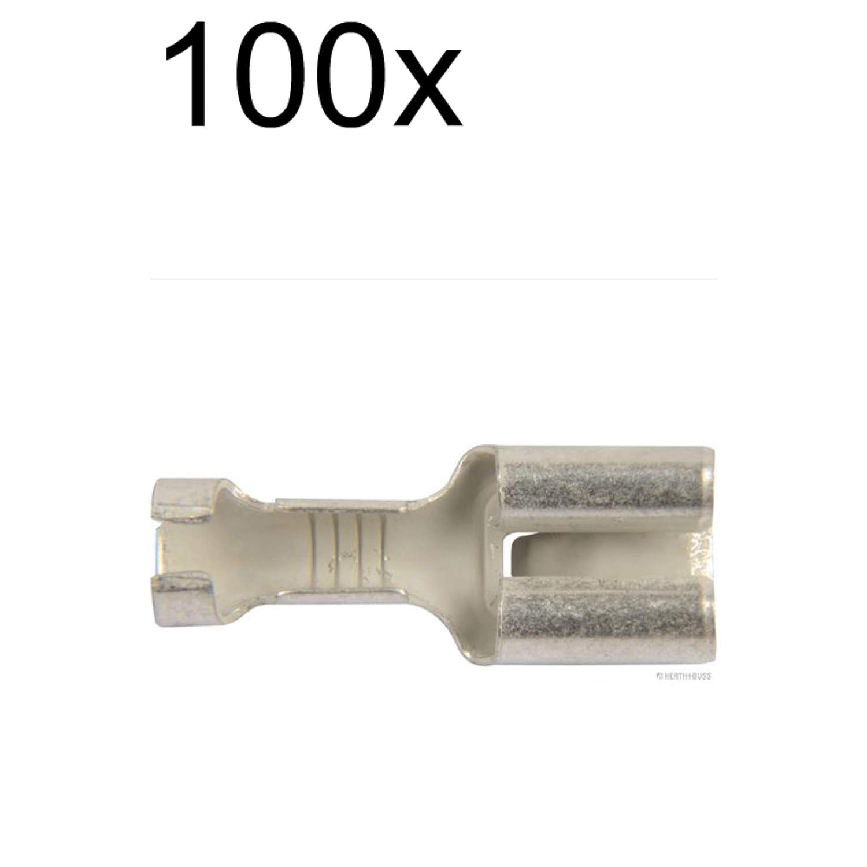 100X Herth+Buss Elparts Crimpverbinder 50251212