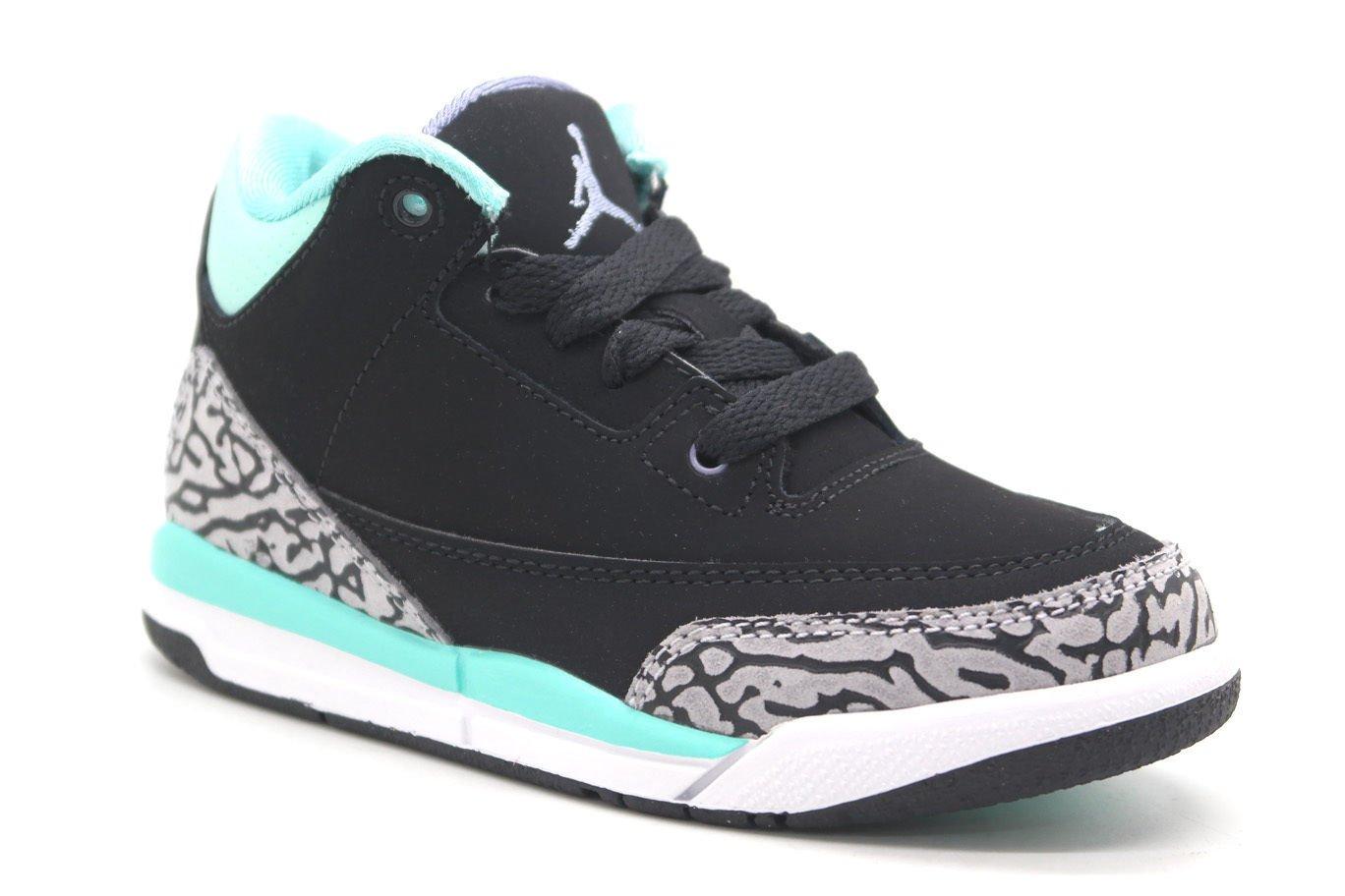 Nike Jordan 3 Retro GP Infant/Todder Basketball Shoes 441141-045 (13.5) by NIKE