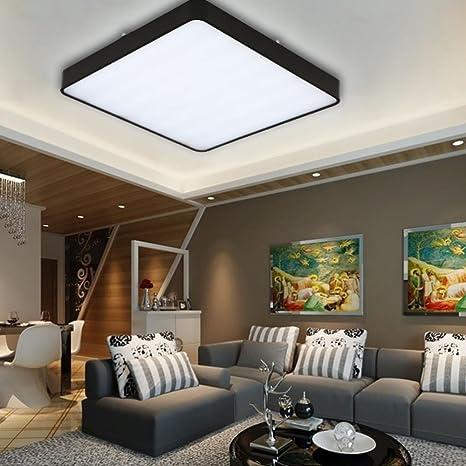 32W LED Luz de techo moderna, iluminación de techo de ...