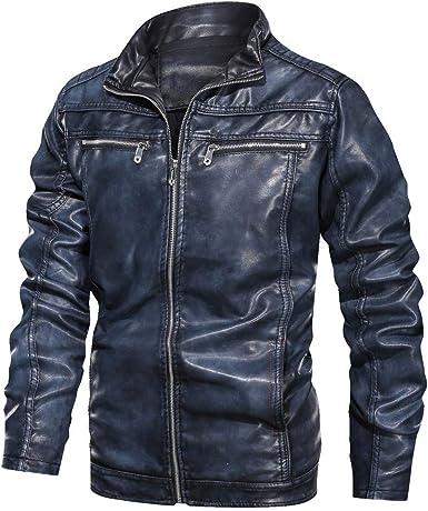 veste en cuir homme petit prix