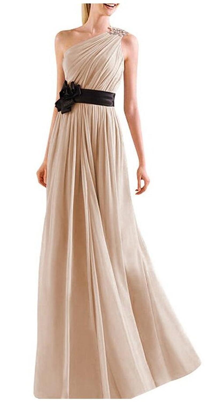 SimpleDressUK One Shoulder Bridesmaid Dresses Evening Prom Dresses