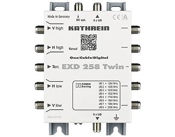 EXD 258 Twin: Amazon.es: Electrónica