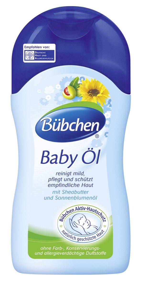 Bübchen Baby Öl 400 ml, 2er Pack (2 x 400 ml) 11811208
