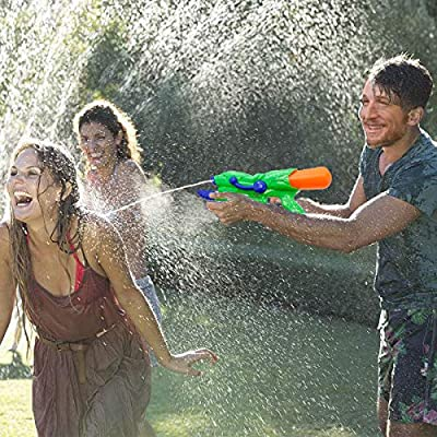 Style-Carry Water Guns Super Soaker Blaster - High Pressure Powerful Long Range Water Pistol Air Pump Squirt Liquidator Toy Swimming Pool Beach Water Fighting for Kids Adults Boys: Toys & Games