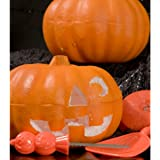 Halloween Fall Thanksgiving Craft Carvable Styrofoam Pumpkin by Importe Par