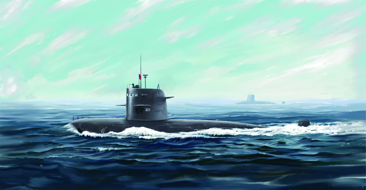 Hobbyboss 01:20 Scale PLA Navy Tipo 039G Canzone Class SSG Kit di Montaggio