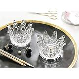 Lemonadeus Beauty Blender Holder Makeup Sponge Holder Crown Glassware Stand Storage Powder Puff Display Stand(2 Pack) (2…