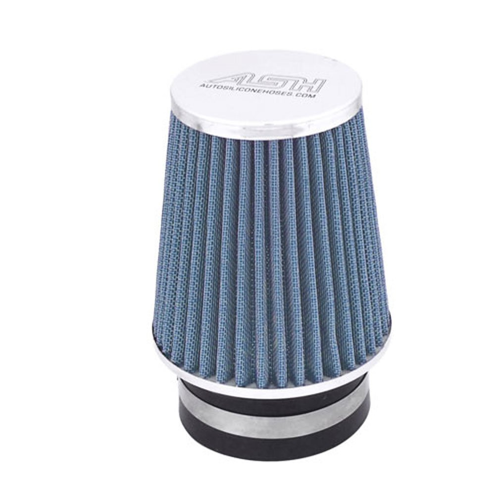 Anodised Blue 15mm Mini Performance Air Breather Filter AutoSiliconeHoses