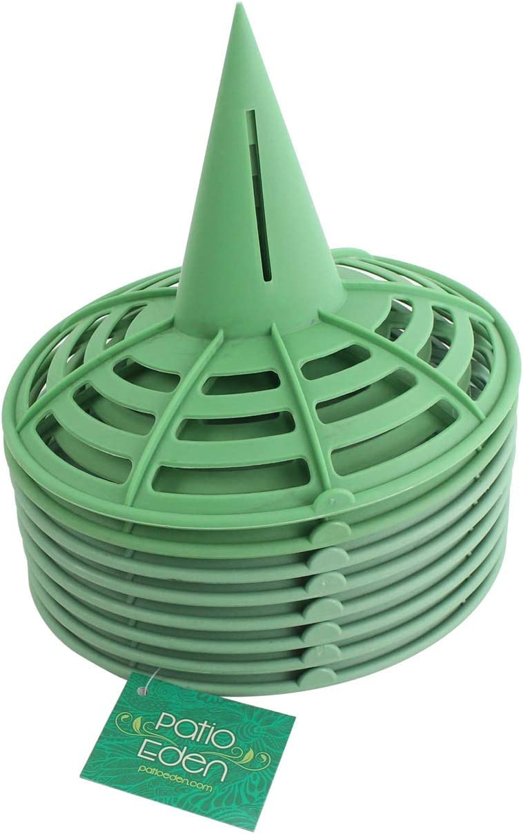 8 Pack - Melon Cradle - Plant & Garden Support Protector for Watermelon, Squash, Pumpkin - Holds up to 8 lbs