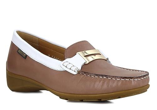 Mephisto - Mocasines de Terciopelo Mujer, marrón (marrón claro), 39: Amazon.es: Zapatos y complementos