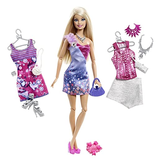 2 opinioni per Mattel X2269 Barbie Fashionistas, Bambola Bionda con Mode