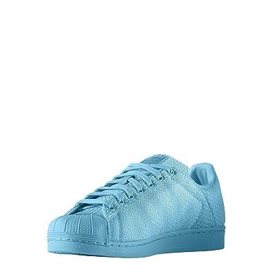 ADIDAS zapatilla modelo Superstar Weave Blau 40: Amazon.es