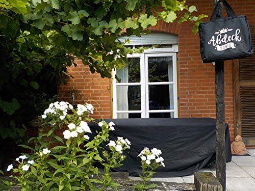 Abdeckkönig Funda Protectora para meubles de jardín de Superior Calidad, Rectangular: 200 x 160 x 70, Impermeable, Cubierta de protección, toldo para Proteger los meubles del jardín: Amazon.es: Jardín
