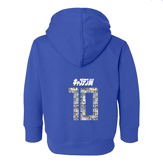 Amazon.com  Tcamp Japan Novelty Captain Nankatsu Tsubasa 2018 World Soccer  Championship Little Kids Girls Boys Toddler Hooded Sweatshirt  Sports    Outdoors a9f3462fd