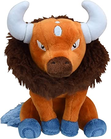 Pokèmon Center Original Fit Tauros Plush Peluche Plüschtier: Amazon.es: Juguetes y juegos