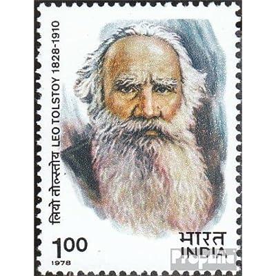 inde 772 (complète.Edition.) 1978 Tolstoj (Timbres pour les collectionneurs)