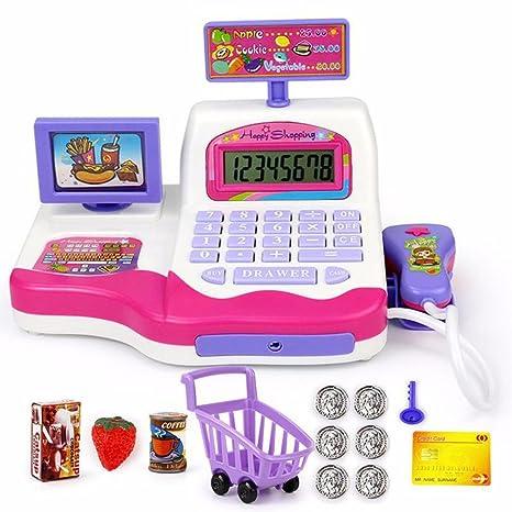 GreatestPAK - Juego de juguetes pretendidos, supermercado, para niños, con carrito de la