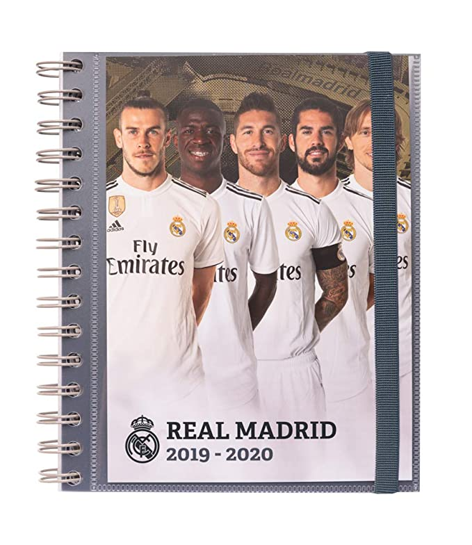 Agenda escolar 2019/2020 semana vista Real Madrid
