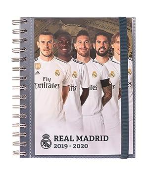 Amazon.com : Real Madrid 2019-2020 Academic Diary, Organiser ...