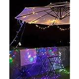 Kacowpper Venta Caliente de Halloween 300 LED Cortina Luces Fiesta Boda Hadas Interior al Aire Libre jardín de Navidad