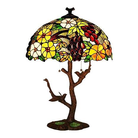 GAOLIQIN 17 Pulgadas Creativa Tiffany Style Lámparas de Mesa ...