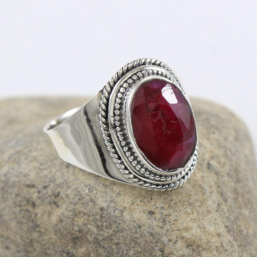 Designer Ring Boho Ring Dainty Ring Statement Ring Gemstone Ring Gift For Her Women Ring 925 Silver Ring Handmade Ring Larimar Ring