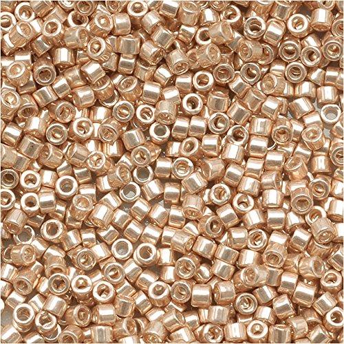 Miyuki Delica Champagne Db433 Par Perles Galvanisé 110 Taille EIWH9D2